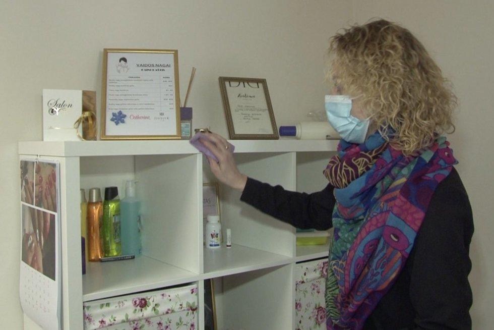 Kosmetologė Jolanta (nuotr. stop kadras)