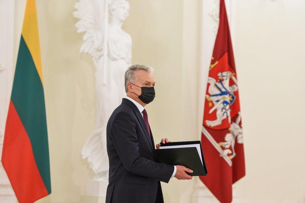 Gitanas Nausėda (nuotr. Roberto Dačkaus)