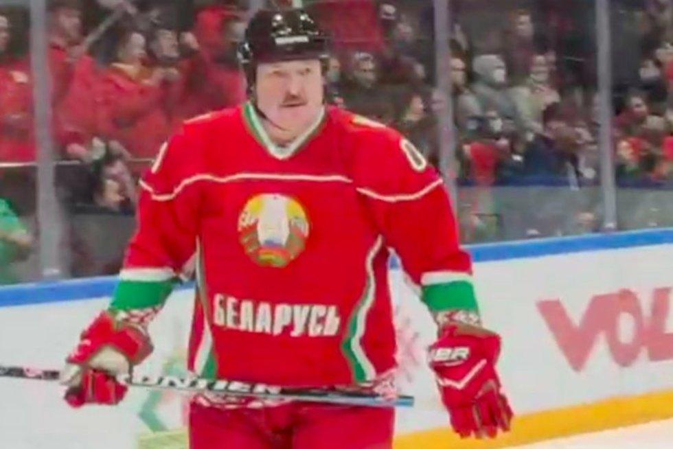A. Lukašenka (nuotr. stop kadras)