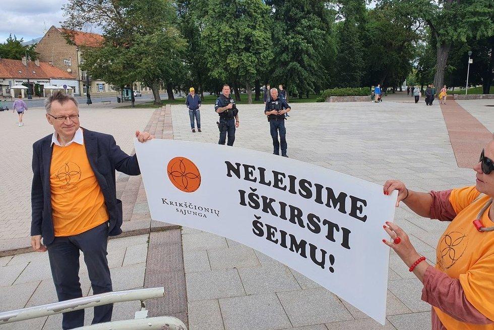 LGBT eitynės Vilniuje (nuotr. Broniaus Jablonsko)