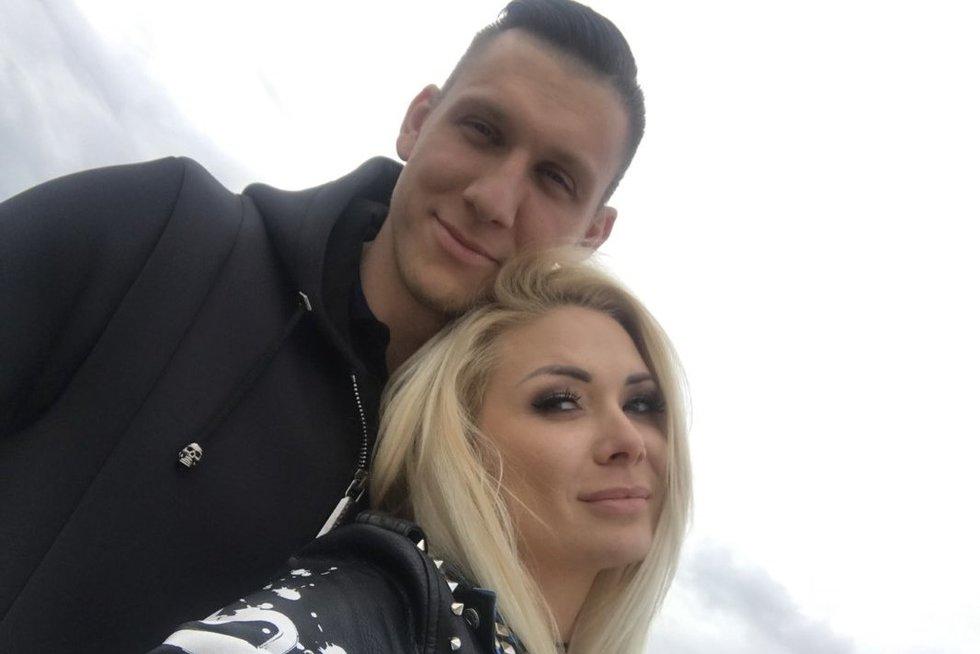 Natalija Bunkė ir Edgaras Eidėjus (nuotr. asm. archyvo)
