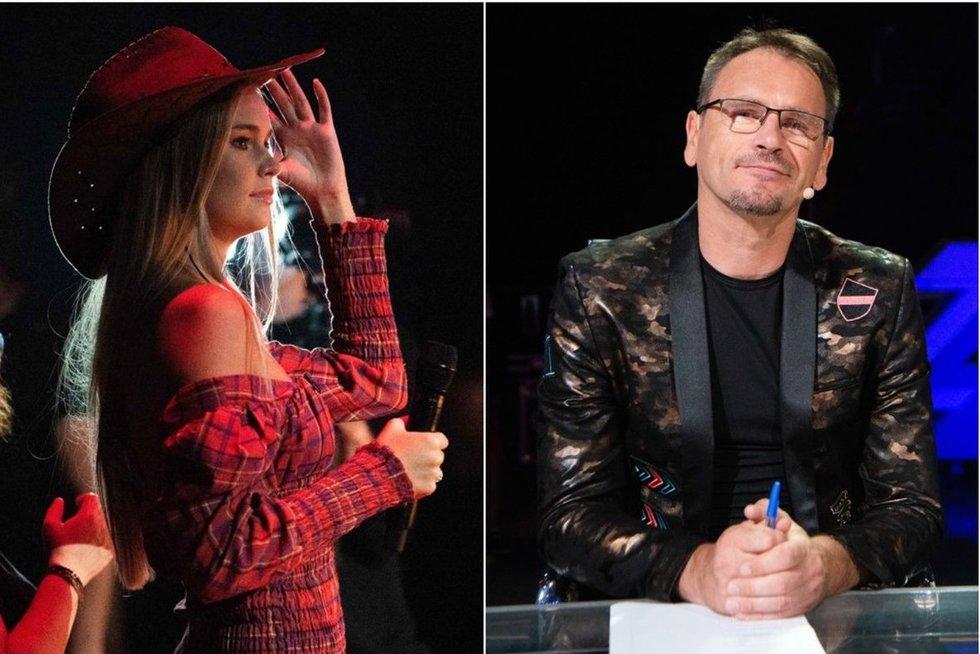Dijora Petrikonytė ir Marijonas Mikutavičius (tv3.lt fotomontažas)