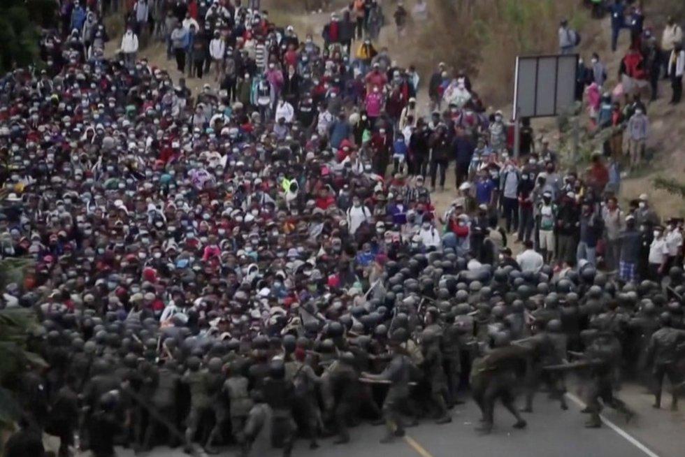Migrantai (nuotr. stop kadras)