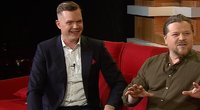 """Laurynas Šarkinas laidoje """"Gero vakaro šou"""" (nuotr. TV3)"""