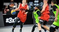 Uteniškiai kaunasi finaliniame 3x3 turnyre (nuotr. FIBA)