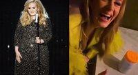 Adele (instagram.com ir SCANPIX nuotr. montažas)