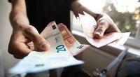 Vienišų asmenų išmoka sieks 28 eurus (nuotr. Fotodiena/Justino Auškelio)