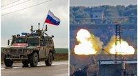 Karas Sirijoje: Putinas rizikuoja savo kariais, Turkija trauktis neketina (nuotr. SCANPIX)