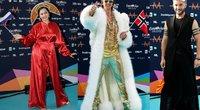 """""""Eurovizijos"""" raudonas kilimas (nuotr. SCANPIX) tv3.lt fotomontažas"""