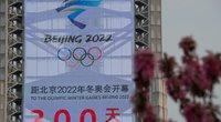 JAV neatmeta galimybės boikotuoti 2022 m. žiemos olimpiadą. (nuotr. SCANPIX)