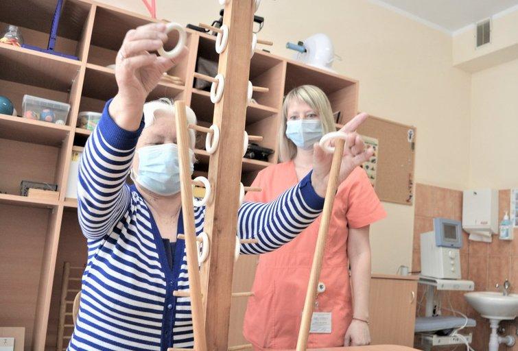 Reabilitacija po COVID-19 (nuotr. LSMU Kauno ligoninės)