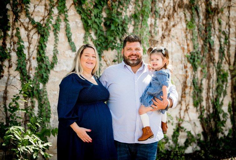 Starlyn su Bill ir dukra Zoe (nuotr. facebook.com)