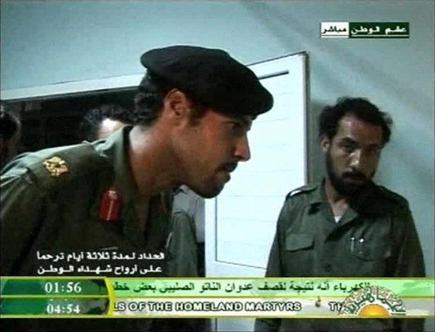 Hamisas Kadafis, 2011-ieji