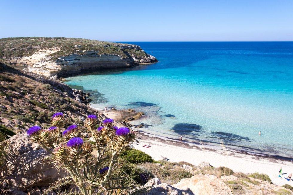"""""""Spiaggia dei Conigli"""", Lampedusa"""