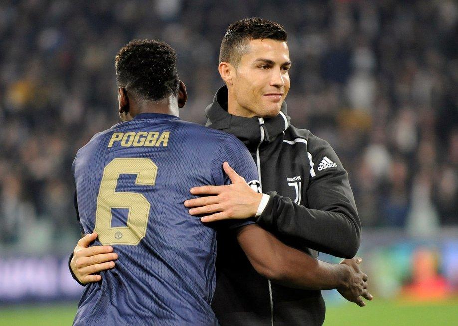 C. Ronaldo ir P. Pogba