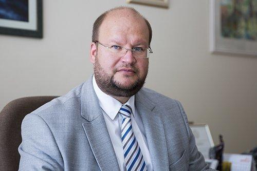 Vilniaus miesto Psichikos sveikatos centro direktorius Martynas Marcinkevičius. Vilniaus miesto Psichikos sveikatos centro archyvo nuotr.