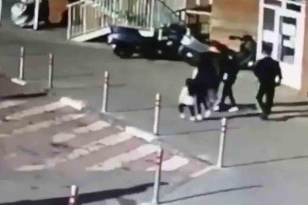 Rusų pomėgis svaidyti šiukšles pro langą baigėsi šiurpia nelaime: 4-metė atsidūrė ligoninėje (nuotr. Instagram)