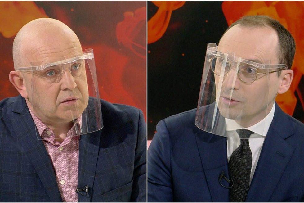 Maldeikis neištvėrė – laidoje reikalavo Orlausko atsiprašymo (tv3.lt koliažas)