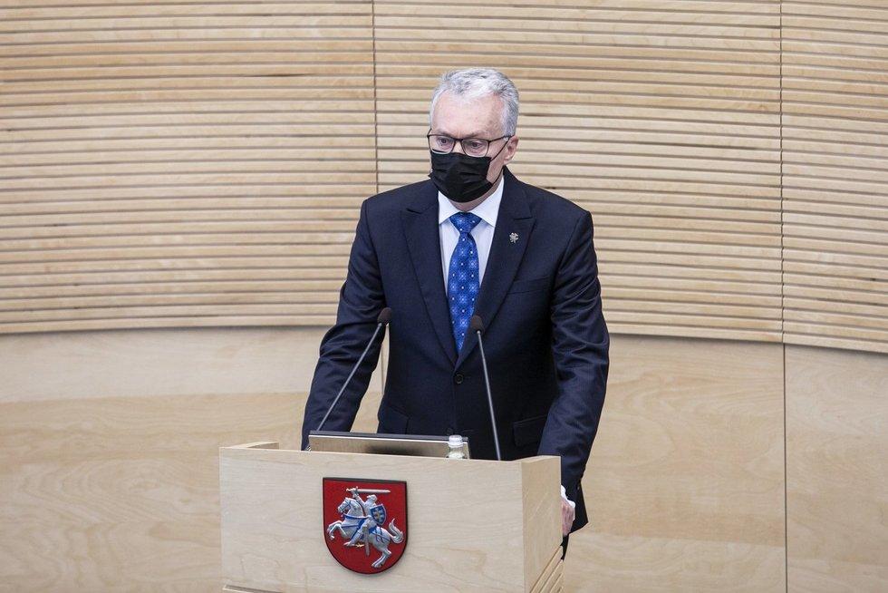 Gitanas Nausėda Paulius Peleckis