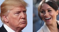 Donald Trump ir Meghan Markle  (nuotr. SCANPIX)