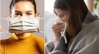 Koronavirusas ir peršalimas  (nuotr. Shutterstock.com)
