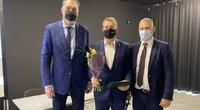 A. Sabonis, A. Sireika ir M. Špokas ( nuotr. LKF)