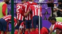 """""""Atletico"""" po septynerių metų pertraukos iškovojo """"La Liga"""" pirmenybių titulą . (nuotr. SCANPIX)"""