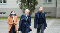 Rytas po rinkimų – konservatoriai Prezidentūroje (nuotr. Fotodiena/Katažyna Polubinska)
