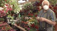 Tėvo dienos proga gėlininkai trina rankomis: negaili išleisti ne vieną dešimtinę (nuotr. stop kadras)