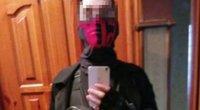 """Užpuolikas paviešino savo nuotraukas prieš užpuolimą (viršuje), po išpuolio jis buvo sulaikytas (nuotrauka apačioje), """"Readovka"""" nuotr. (nuotr. Telegram)"""
