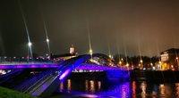 Minint Neišnešiotų naujagimių dieną, per 30 pastatų Lietuvoje apšviesti purpurine spalva (nuotr. Organizatorių)