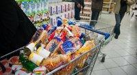 Aukojami maisto produktai (nuotr. Fotodiena.lt/Edvardo Blaževičiaus)