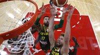 Aiškūs Lietuvos rinktinės varžovai pasirengime olimpinei krepšinio atrankai (nuotr. SCANPIX)