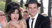 Amy Winehouse ir Blake Fielder (nuotr. SCANPIX)