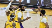 """Los Andželo """"Lakers"""" išlygino serijos rezultatą. (nuotr. SCANPIX)"""