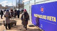 Kaunas pristabdo skiepijimą: sunaudojo visas vakcinas (asoc. nuotr. Sauliaus Žiūros)
