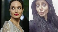 Angelina Jolie ir Sahar Tabar (nuotr. SCANPIX)