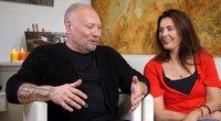 A. Ivanauskas-Fara su žmona Rima (nuotr. TV3)