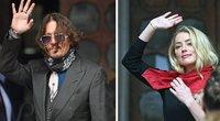 Johnny Deppas ir Amber Heard (nuotr. SCANPIX)