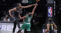"Duranto vedami ""Nets"" dar sykį nepaliko vilčių ""Celtics"". (nuotr. SCANPIX)"