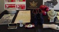 Aukcione parduodami Elvio Preslio, Marilyn Monroe ir kitų įžymybių daiktai (nuotr. stop kadras)