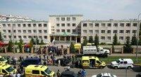 Šaudynės Kazanės mokykloje, Rusijoje (nuotr. SCANPIX)