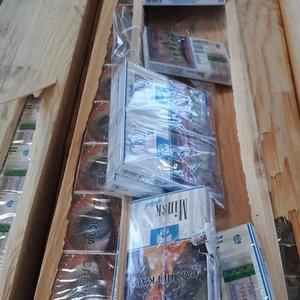 Muitininkai sulaikė kontrabandą iš Baltarusijos: cigaretės buvo slepiamos lentose