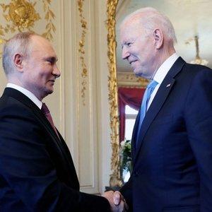 JAV ir Rusijos viršūnių susitikimas baigėsi