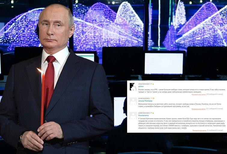 Kremliaus troliai: ribos jau peržengtos, šalys žada imtis veiksmų (nuotr. SCANPIX) tv3.lt fotomontažas