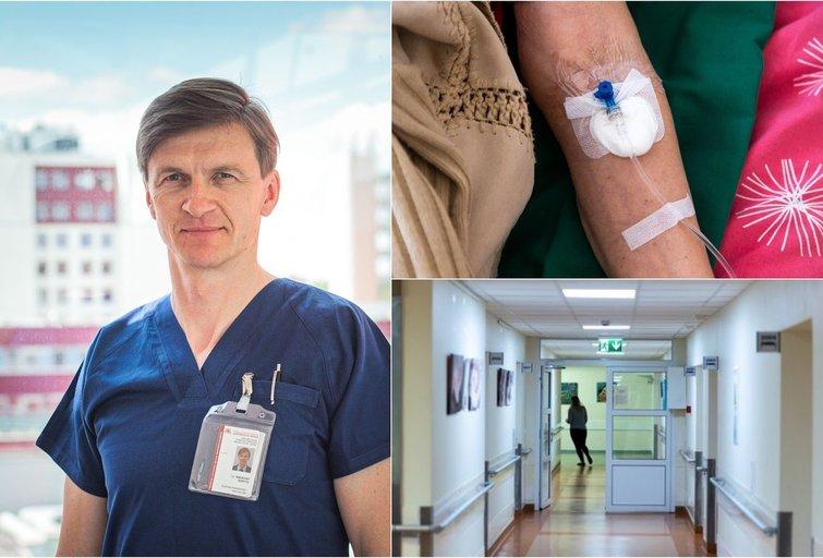 Mindaugas Šerpytis, ligoninė (tv3.lt fotomontažas)