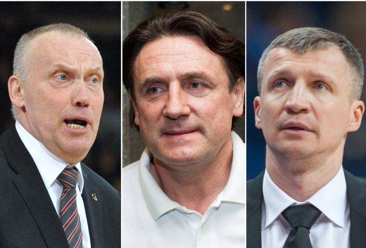 Rimas Kurtinaitis, Valdemaras Chomičius ir Tomas Pačėsas (tv3.lt fotomontažas)