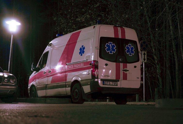 poliklinika, skubi pagalba (Fotodiena/Kristupas Kolodzeiskis)
