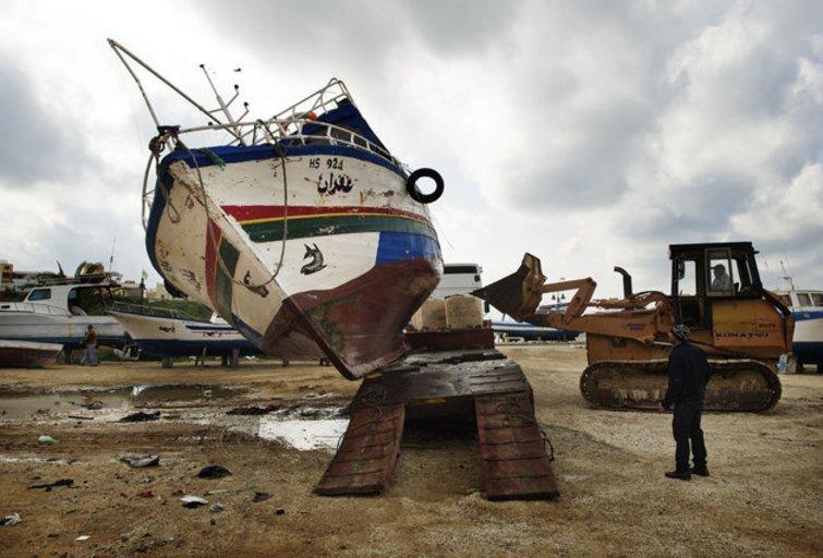 Imigrantai iš Tuniso pasiekė Europą (SCANPIX nuotr.) (nuotr. Balsas.lt)