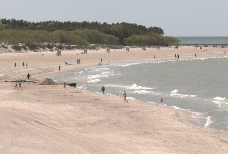 Paplūdimys (nuotr. stop kadras)